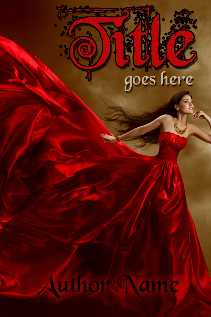 E-book Cover - Girl in a Red Dress